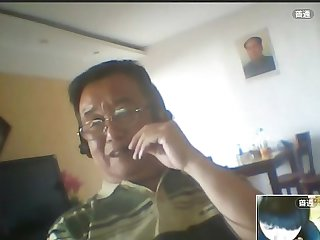 Chinese daddy web cam