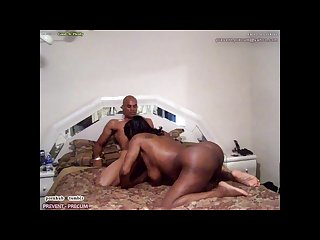 Gorgeous ebony chick takes on u s Military officer pt2