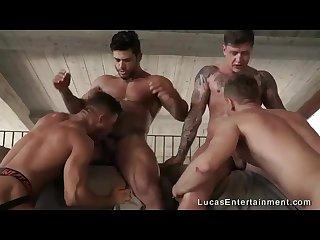 Orgy fucking machine