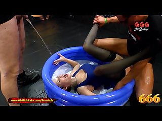 Extreme watersports with milf viktoria 666bukkake