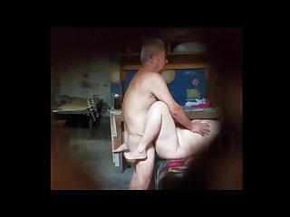 Chinese oldman fucking prostitute