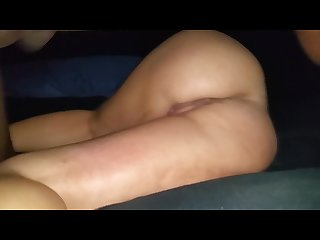 Grunting and groaning while getting pounded by bbc