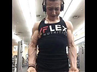 Ripped girl