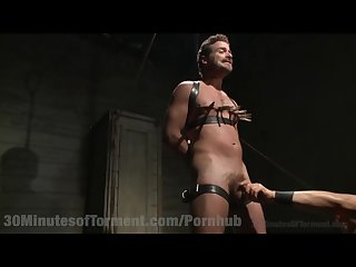 Extreme bondage punishment