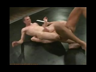 Two hot studs give their all in a fight for sexual domination