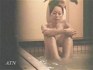 A couple at private bathroom at spa 003