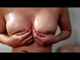 I Gave My Colleague An Amazing Titfuck At A Christmas After Party - Cumplay