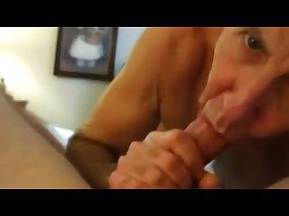 Suck the cum again daddy