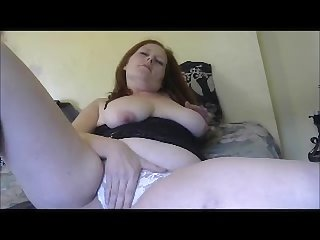 Six month pregnant maddie pisses masturbates and stuffs panties in pussy
