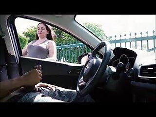 Punheta no carro 01 Hd