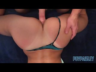 Letting a friend cum on my ass after party