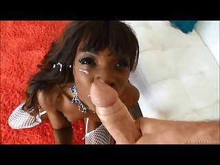 Facial Compilation! Ebony Beauties Part 3