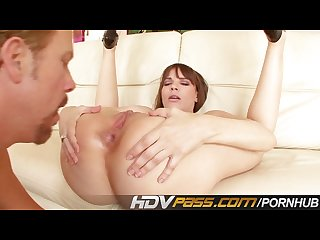 Brunette Dana dearmond licking and jizzed on face