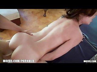 Stunning brunette latina alexa rydell gets a sensual massage