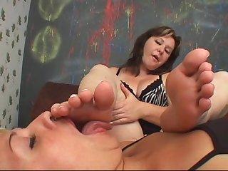 Feet dom ruiva nova