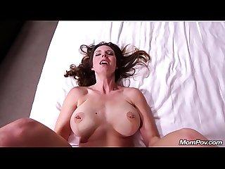 Horny swinger milf enjoys anal fucking pov