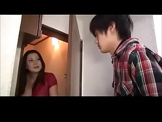 Asian Japanese Mom fucked by Young Son