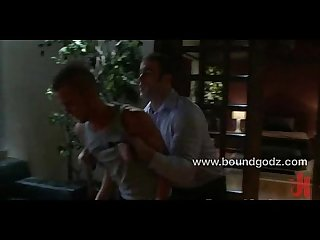 Spencer reed fucks jake hard in bondage