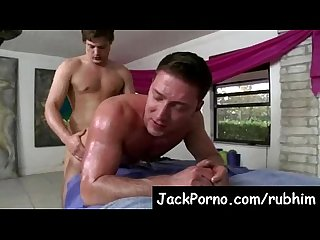 Gay massage with happy ending rub him video10