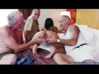 Latina babe nikki kay hot threeway Fucking action
