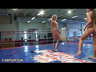 Nude Fight Club Presents: Ivana Sugar vs.Cathy