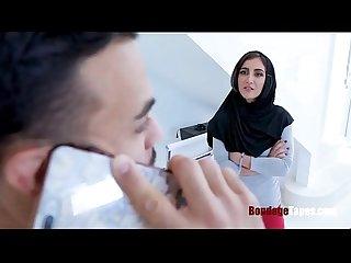 Hijab babe gets fucked pretty nasty
