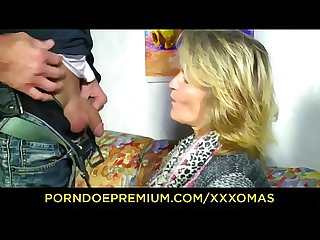 German mature video
