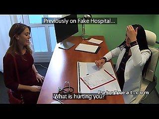 Doctor fucks nurse and patient