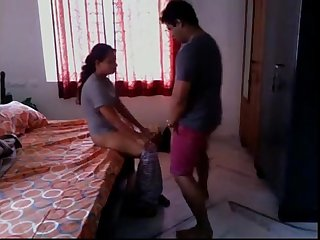 Desi married indian sister Quickie with brother hidden cam