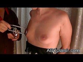 Pinces à sein étire tétons
