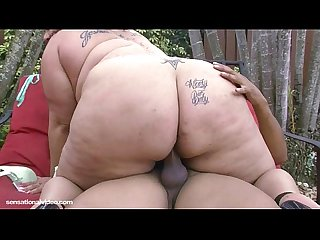 Amateur latina bbw miss angel gets fucked outside in public