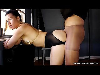Kinky assjob nylons fantasy