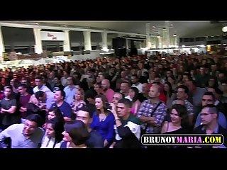 Culazos y casting Porno por brunoymaria en el salon erotico de murcia 2018