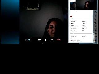 Colombian girl in webcam