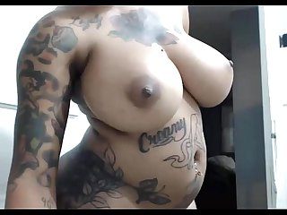 Beautiful Tattooed Ebony Amatuer Teasing on Webcam - sexycams.ml