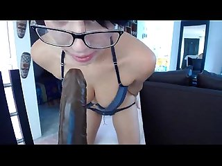 Hot and sexy webcam girl teases and fucks dildo more at datecam period tk