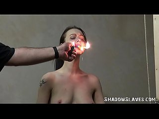 Emilys burning prisoner in bondage and cellblock bdsm