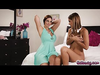 Mindi slips off her own panties and hands them to uma to inhale