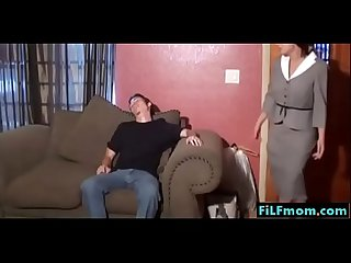 Step mom forces son a hand job free mom son family sex videos at filfmom com
