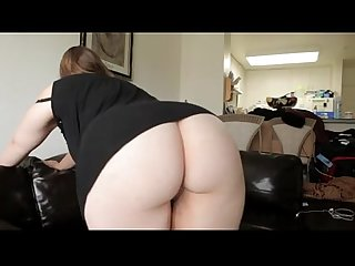 Pretty bbw pays her rent