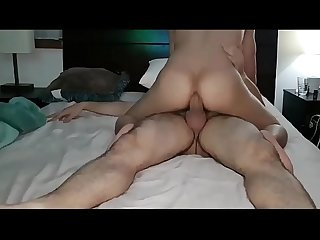 I like when my best friend with monster cock fucks my ass