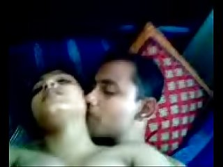 Bangladeshi couple enjoying