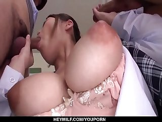 Smashing porn from voluptuous Rion Nishikawa - More at Japanesemamas com