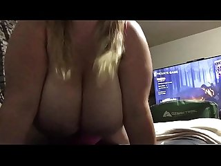 Husbands friend comes over to play black ops 3 but instead fucks his Wife hard f