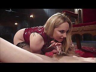 Aiden starr chastity teasing facesitting stockings milf