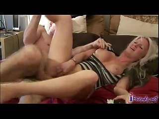 Blond gets fucked