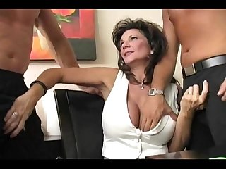 Mature divorced housewife dp anal squirting