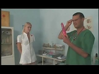 Young European Nurse Masturbating And Fucking At Work by xXx.GSociaLL.com