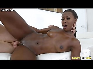 Simone styles took white cock in spoon position