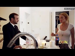 Lindsay lohan amazing cleavage big boobs lindsay s01e03 2014